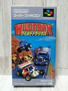 [SNES] WILDTRAX Super Famicom Nintendo  SFC Japan games (7)