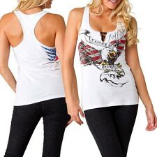 Metal Mulisha Ladies Freedom Tank Size M