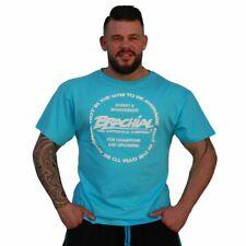 Brachial T-Shirt Sign Style Light Blue Bodybuilding Fitness