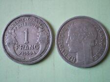 PIECE DE 1 FRANC 1959  MORLON en  ALUMINIUM