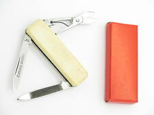 Vtg Frost CS-35 Collector Series Seki Japan Lobster Bone Folding Pocket Knife