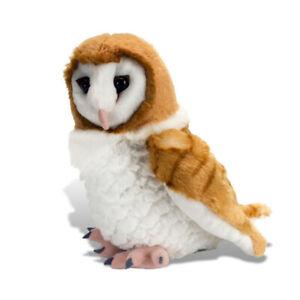 """Barn Owl soft toy plush toy 12""""/30cm Cuddlekins by WILD REPUBLIC - NEW"""