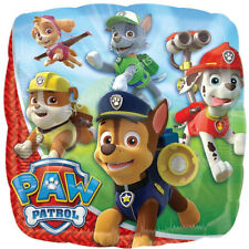 45CM PAW PATROL CHARACTERS BIRTHDAY PARTY SUPPLIES FOIL BALLOON AIR HELIUM QUALI