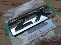 "Toyota Land Cruiser 200 LC200 FJ200 ""ZX"" Emblem Badge Genuine OEM Parts 2008-15"