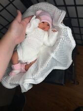 Full Body Silicone baby Girl Fiona (14 Inches).