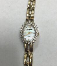 Vintage Female Vetania Watch - Diamond Encrusted Bezel