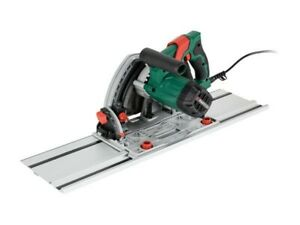 Parkside Plunge Saw PTSS 1200 C2 with 2-Piece Guide Rail Tilting 165mm saw blade
