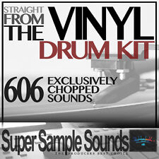 STRAIGHT FROM THE VINYL Drum Kit beats mpc60 SP1200 MPC 2500 5000 1000 samples