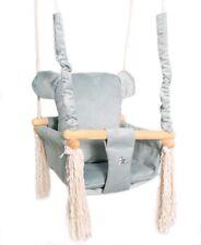Baby Swing Chair Teddy Child Wood Swing Chair Toy Teddy Bear Swing Toy bear