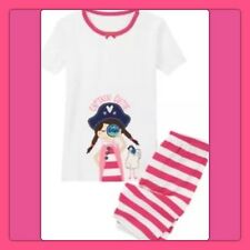 "NWT 12-18 mos Gymboree GYMMIES sleepwear 2pc ""CAPTAIN CUTIE"" Summer COTTON PJS"