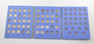 40 Coins Roosevelt Dimes Silver US Coin Set Collection Lot Album *892