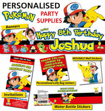 Unbranded Pokemon Party Balloons & Decorations