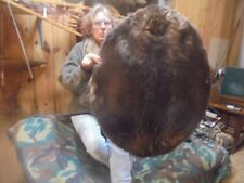 "M N56"" # 376 Fancy Monster Adirondack Mt. Large Beaver Pelt/Coyote/Fur/Fox/Craft"