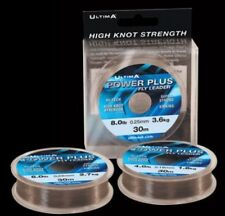 ULTIMA POWER PLUS CLEAR MONOFILAMENT FLY LEADER 30M - ASSORTED WEIGHTS