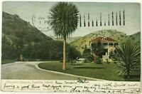 Postcard Catalina Island CA House View Descanso Canyon California 1905 Undivided
