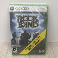 Rock Band Rockband Xbox 360 Game new sealed promotion copy rare