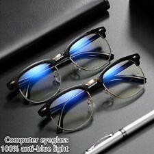 Blue Blocking Blue Light Glasses Sunglasses Computer Gaming Protection Eyewear *
