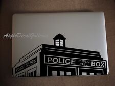 Dr Who Tardis Police Box Vinyl Decal Sticker Skin Macbook Pro Air 13 15 17 S-B1