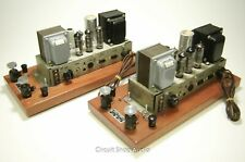 Pair of Vintage Ampex Tube Monoblock Amplifiers / 6973 mod to 6BQ5 -- KT