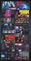 KANADA STAR TREK 50TH ANNIV. 2017  PRESTIGE STAMP BOOKLET Prestige-Broschüre