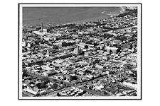 GEELONG Central showing town centre Eastern Beach 1954 modern digital Postcard