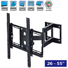 Wall Mount LCD LED Plasma TV Tilt Swivel Bracket 26 30 32 37 40 42 47 48 50 55