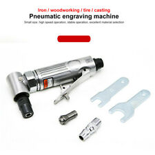 Mini Air Pneumatic Right Angle Die Grinder Polisher Cleaning 1/4'' Cut Off Us