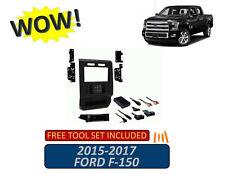 2-DIN Dashboard Installation Kit 2015-2017 Ford F150 Trucks Turbo Touch Kit