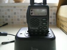 Icom IC-T8E Tri-Band Hand Held With Accessories
