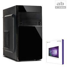 QUAD CORE PC GAMER AMD A8 9600 8GB 240GB SSD + 1TB Komplett Windows 10 Computer