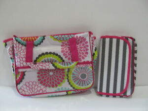 NEW! Thirty One TRUE BEAUTY BAG Bubble Bloom Makeup & Travel Tote