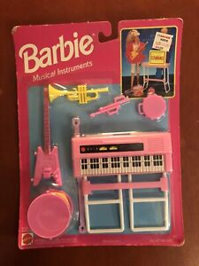 Barbie And Friends Musical Instruments 1993, Never Opened
