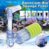 Aquarium Bio  Air pump Driven Sponge  Oxygen Pump Fish Tank  !!