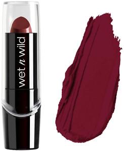 Wet N Wild Lipstick Dark Wine Silky Finish Hydrating Formula Lip Stick