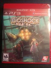 BioShock  (Sony Playstation 3, 2008)  New PS3