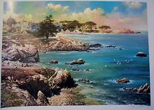 ALEXANDER CHEN ALONG THE COAST LIMITED EDITION LITHOGRAPH SIGNED/# W/COA