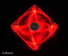 Akasa AK-FN075 14cm Quiet Red LED Fan