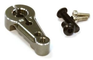 Integy C25831GUN Aluminum Servo horn 25T For Futaba SERVO (R=16, 20MM)