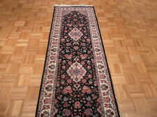 2'8 X 8 Ft. Runner Hand Knotted Kashan Design Oriental Rug 300 Kpsi