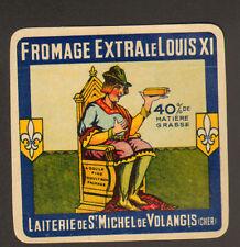 SAINT-MICHEL-de-VOLANGIS (18) FROMAGE Extra LE LOUIS XI