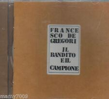 CD= Francesco De Gregori: Il Bandito E Il Campione - CD