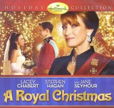 A Royal Christmas 2014 Hallmark romance movie, new DVD, Jane Seymour, L. Chabert