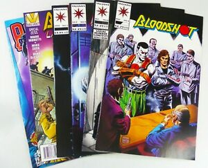 Valiant BLOODSHOT (1993-1996) #4 8 9 +Last Stand +Yearbook VF to NM LOT