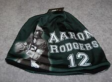 64adb0eada0f0 ADULTS GREEN BAY PACKERS AARON RODGERS  12 NFL PLAYER BEANIE CAPS HAT