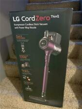 LG CordZero A9 Wet/Dry Cordless Stick Vacuum w Kompressor Technology & ThinQ WiF