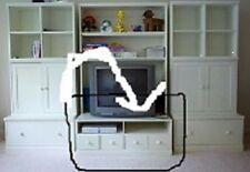 Pottery Barn Kids Cameron MEDIA Coffee Table TV Cabinet Stand bench Wall System