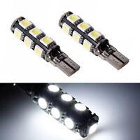 2 ampoules à LED Veilleuses feux position Blanc pour Renault Megane Laguna Modus