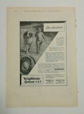 Pubblicità 1933 VOIGTLANDER HELIAR FOTO PHOTO old advertising werbung publicitè
