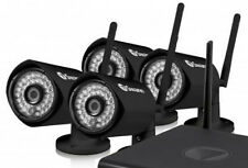 New Swann CONVW-1080WB4-US GuardianEye WiFi HD 1080p Security Cameras - 4 PACK