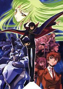 Code Geass Poster Print Lelouch C.C Suzaku Anime Manga Wall Decor